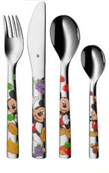Sztućce dziecięce Mickey Mouse 4 szt.