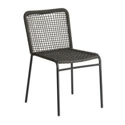 Krzesło ogrodowe orine czarne