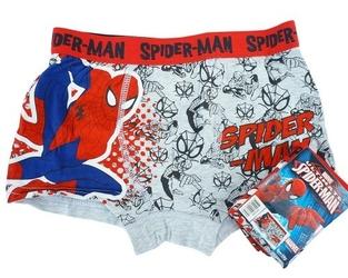 Bokserki dziecięce spiderman ultimate szare 4-5 lat