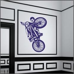 Naklejka welurowa rower, bike bk8