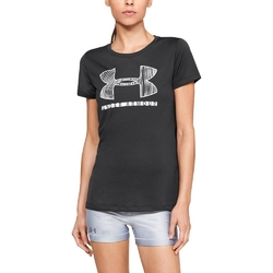 Koszulka damska under armour tech ssc graphic - czarny