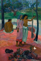The call, paul gauguin - plakat wymiar do wyboru: 70x100 cm