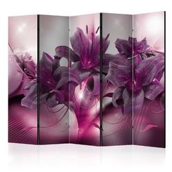 Parawan 5-częściowy - płomień purpury ii parawan