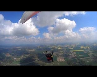 Lot paralotnią z akrobacjami - wrocław