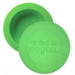 Oogaa green bowl  lid silikonowa miseczka z pokrywką