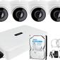 Zm12804 monitoring plugplay 4mpx zestaw do firmy domu hikvision hiwatch rejestrator ip hwn-2108h-8p 4x kamera hwi-t240h akcesoria