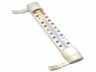 Termometr Zaokienny Zewnętrzny XXL - Biały
