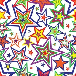 Obraz na płótnie canvas tęcza tło wektor gwiazdy
