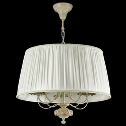 Kremowa lampa wisząca olivia maytoni classic arm326-55-w