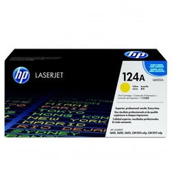 Hp oryginalny toner q6002a, yellow, 2000s, 124a,
