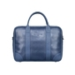 Skórzana torba biznesowa na laptopa granatowa sempertus