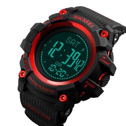 Zegarek SKMEI 1356 KOMPAS KROKOMIERZ red - RED