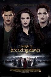 Twilight - breaking dawn part 2 one sheet - plakat
