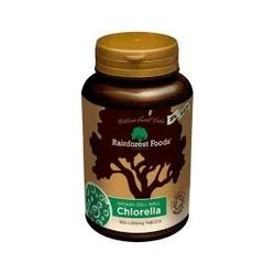 Chlorella bio  300 tabletek x 500 mg, rainforest foods suplement diety