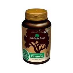 Chlorella bio  300 tabletek x 500 mg, rainforest foods suplement diety