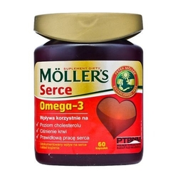 Mollers serce x 60 kapsułek