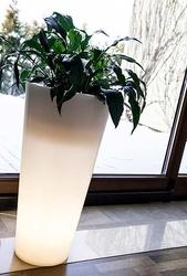 Donica podświetlana led venus 70 cm