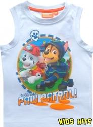Koszulka psi patrol call the paw biała 5 lat