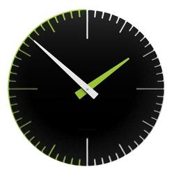 Zegar ścienny exacto 36 cm calleadesign czarny 10-025-5