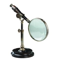 Authentic models szkło powiększające brąz ze stojakiem ac099e