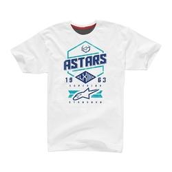 Koszulka alpinestars hex tee white black stratos 1102015-297