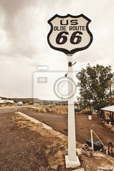 Obraz route 66 podpisania