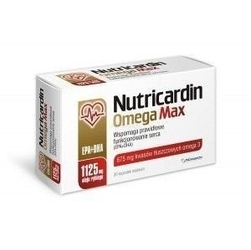 Nutricardin omega max x 30 kapsułek
