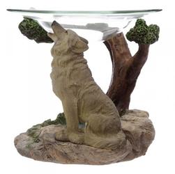 Wilk strażnik północy - kominek podgrzewacz do olejków