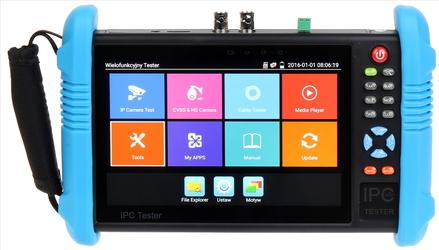 WIELOFUNKCYJNY TESTER CCTV CS-H7-70H - Szybka dostawa lub możliwość odbioru w 39 miastach