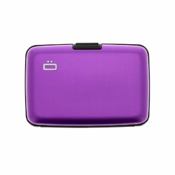 Portfel Aluminiowy Ogon Designs Stockholm Purple RFID protect - Purple