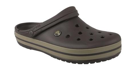 Klapki crocs crocband 11016-22y 3738 brązowy