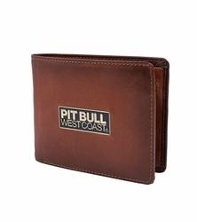 Portfel skórzany Pit Bull West Coast Brant - Brązowy