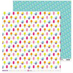 Słodki papier do rękodzieła 30x30 cm Mis Chuches - 04