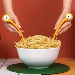 Łyżki do makaronu pasta monsters