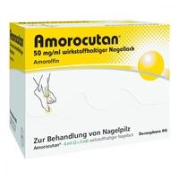 Amorocutan 50 mgml wirkstoffhaltiger nagellack