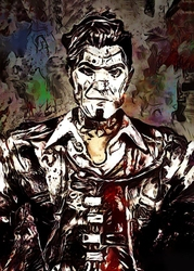 Legends of Bedlam - Handsome Jack, Borderlands - plakat Wymiar do wyboru: 60x80 cm