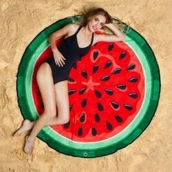 Koc plażowy arbuz