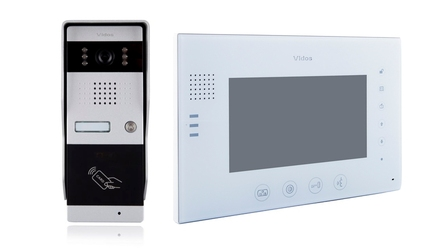 Wideodomofon VIDOS M670W-S2S50A - Szybka dostawa lub możliwość odbioru w 39 miastach