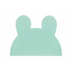 Silikonowa podkładka we might be tiny - miętowy króliczek