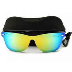 Okulary pełne lustro nerdy polaryzacyjne lustrzane std-20