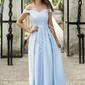 Suknia carmen z brokatowym gorsetem, błękitna 2111
