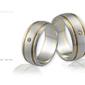 Obrączki ślubne - wzór au-110