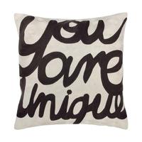 HK Living :: Haftowana poduszka You Are Unique 50 x 50 cm