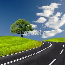 Obraz na płótnie canvas trzyczęściowy tryptyk droga