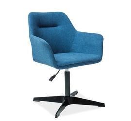 Krzesło regulowane Elian niebieskie