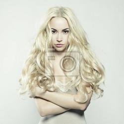 Fototapeta seksowna blondynka