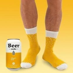 Skarpetki piwo w puszce