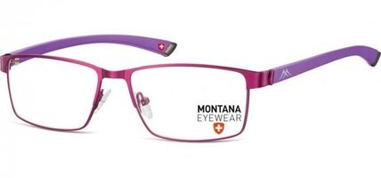 Elastyczne okulary oprawki optyczne montana mm613e