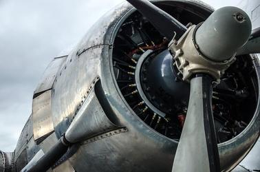 Fototapeta ogromny silnik samolotu fp 2311