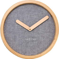 Zegar ścienny Nextime Calm 30 cm, szary 3155 GS